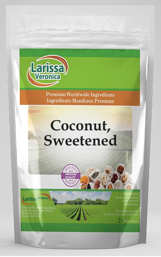 Coconut, Sweetened