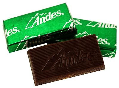 Andes Creme de Menthe Thins Chocolate Candy - Additional View