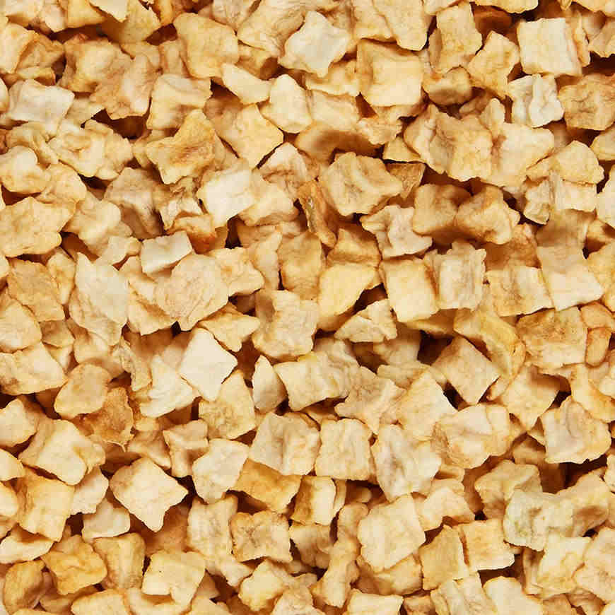 Dried Apples (Diced, Natural) - Additional View