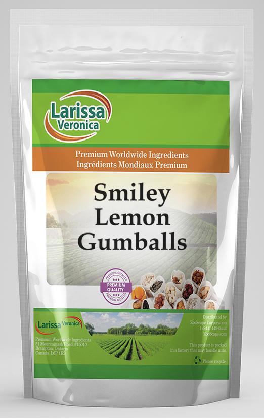 Smiley Lemon Gumballs