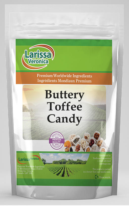 Buttery Toffee Candy