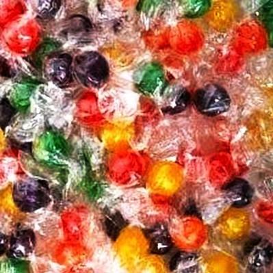 Sour Fruit Balls Candy