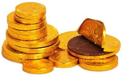 Milk Chocolate Gold Coins Collection