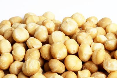 Macadamia Nuts, Natural and Raw