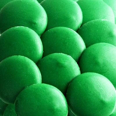Dark Green Coating Melting Wafers