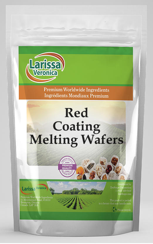 Red Coating Melting Wafers