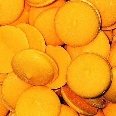 Yellow Coating Melting Wafers