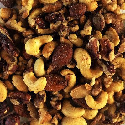 Mixed Nuts, Natural and Raw