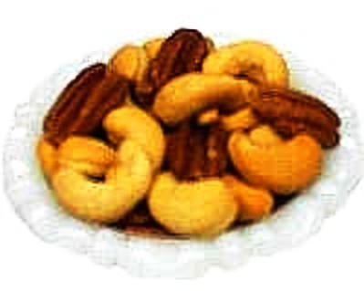 Cashews and Pecans, Roasted and Salted