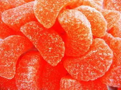 Orange Fruit Slices Jelly Candy