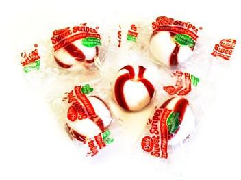 Sweet Stripes Soft Peppermint Puffs Balls