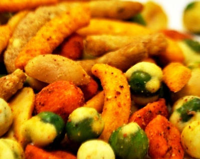 Sweet and Spicy Crunch Mix