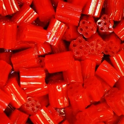 Red Cherry Licorice Nibs Bites