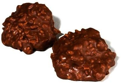 Chocolate Coconut Clusters (Sugar Free)