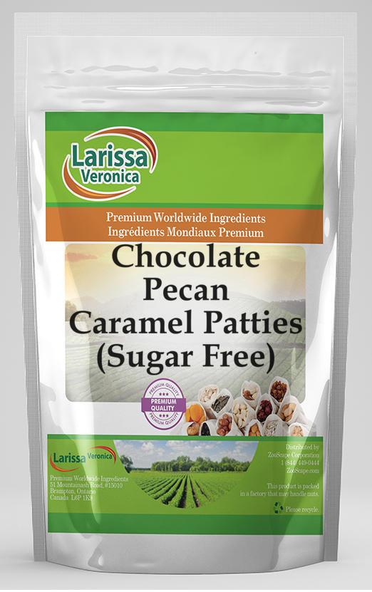 Chocolate Pecan Caramel Patties (Sugar Free)