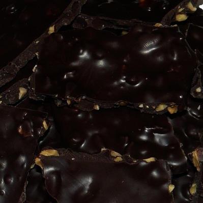 Dark Chocolate Almond Bark (Sugar Free)