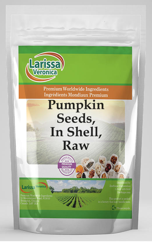 Pumpkin Seeds, In Shell, Raw