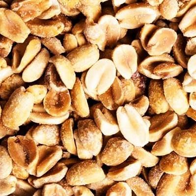 Peanut Splits, Dry Roasted, Unsalted