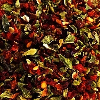 Bell Pepper Flakes <BR>(Red and Green)