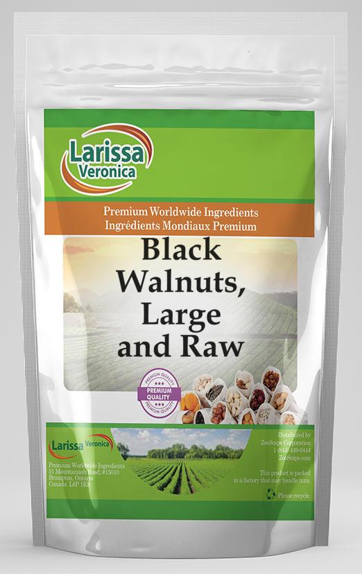 Black Walnuts (Eastern), Large and Raw