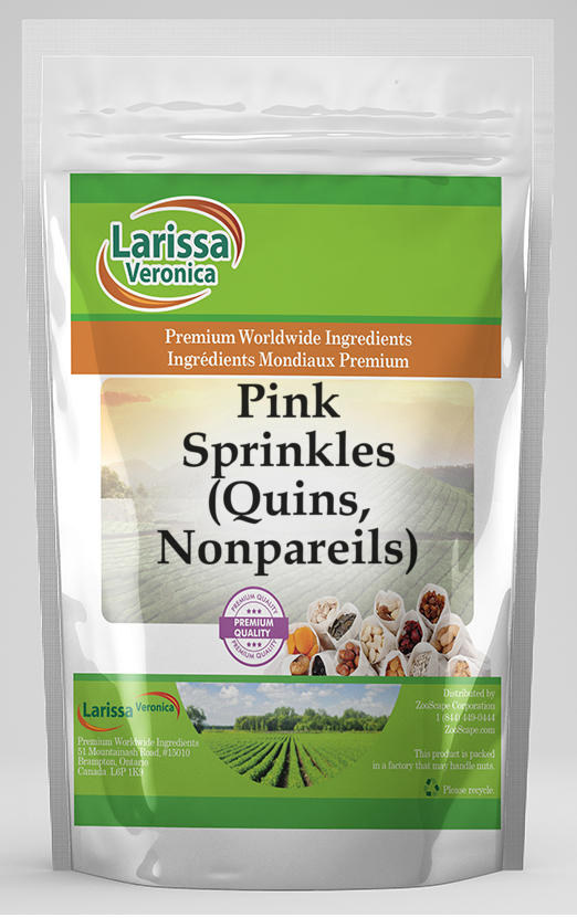 Pink Sprinkles (Quins, Nonpareils)