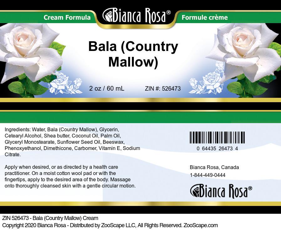 Bala (Country Mallow) Cream