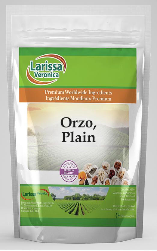 Orzo, Plain