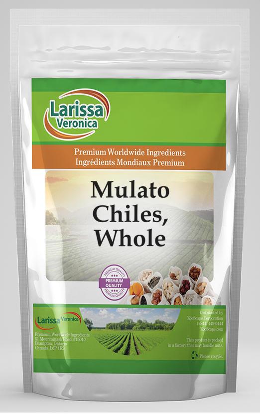 Mulato Chiles, Whole