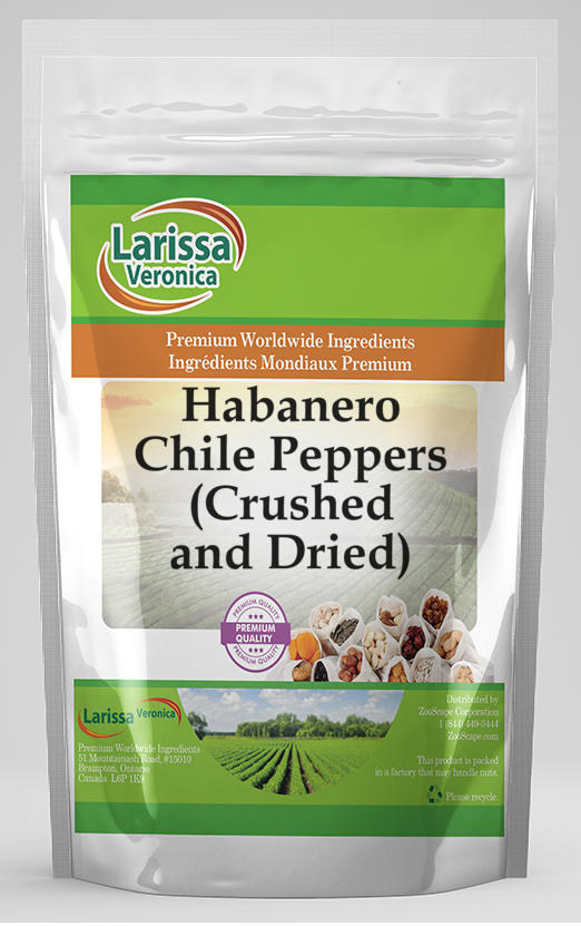 Habanero Chile Peppers (Crushed and Dried)