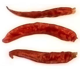 Thai Bird Chile Peppers, Dried