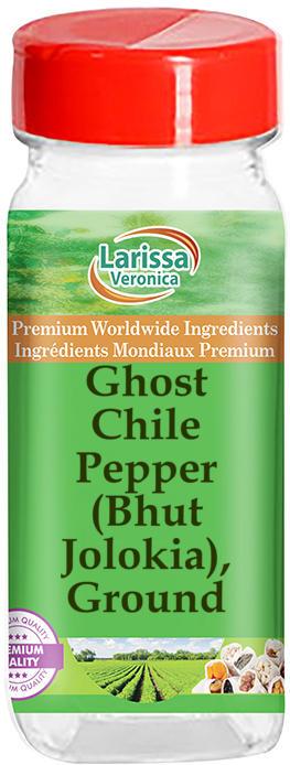 Ghost Chile Pepper (Bhut Jolokia), Ground