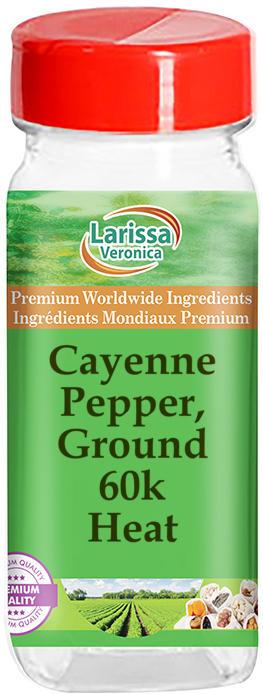 Cayenne Pepper, Ground 60k - Heat