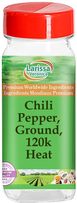 Chili Pepper, Ground, 120k - Heat