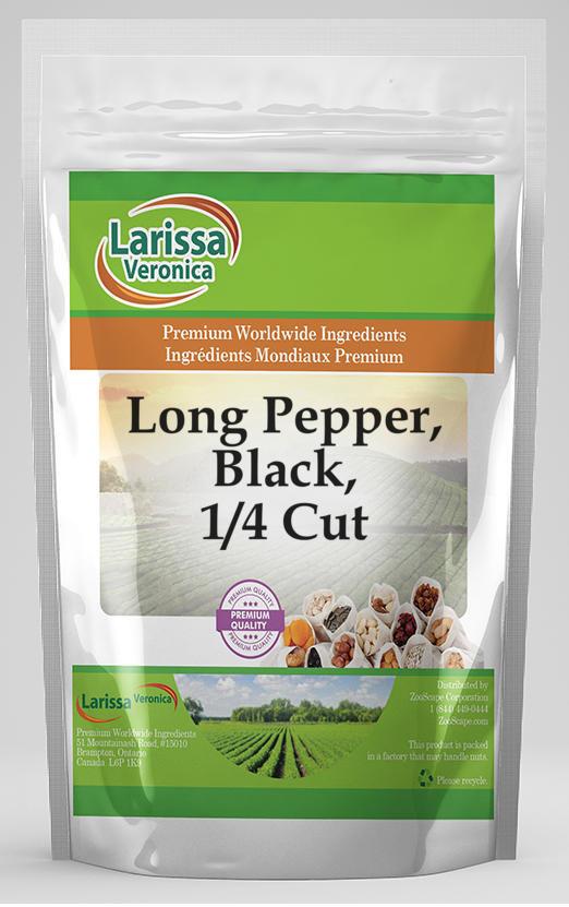 Long Pepper, Black, 1/4 Cut