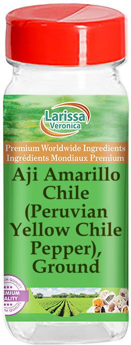 Aji Amarillo Chile (Peruvian Yellow Chile Pepper), Ground