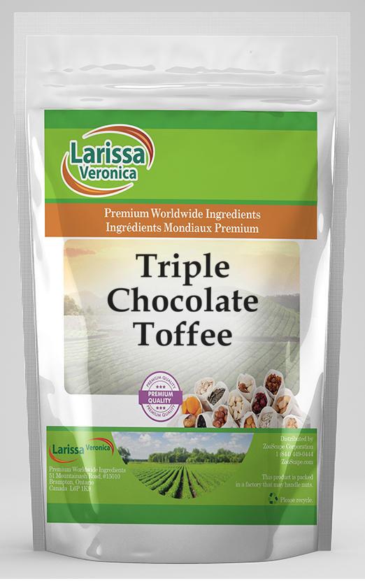 Triple Chocolate Toffee