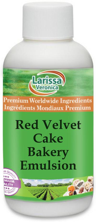 Red Velvet Cake Bakery Emulsion