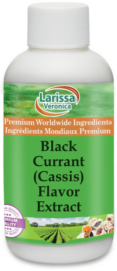 Black Currant (Cassis) Flavor Extract