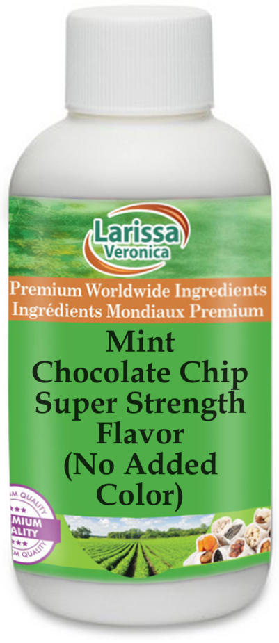 Mint Chocolate Chip Super Strength Flavor (No Added Color)