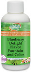 Blueberry Delight Flavor Fountain and Color