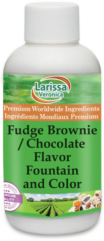 Fudge Brownie / Chocolate Flavor Fountain and Color