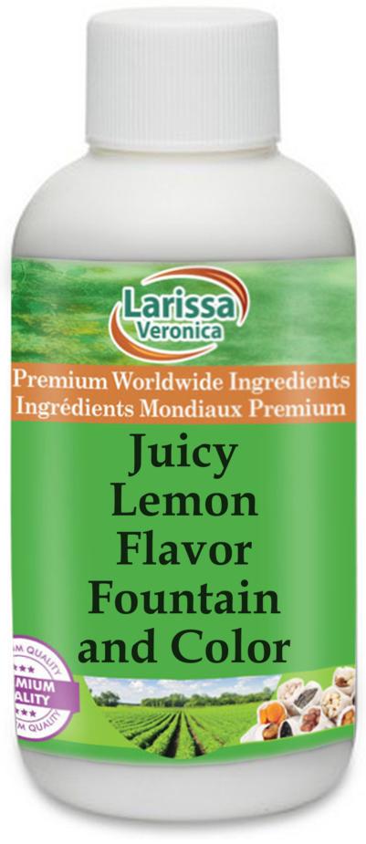 Juicy Lemon Flavor Fountain and Color