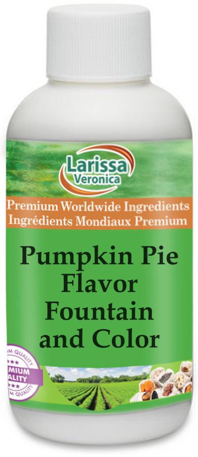 Pumpkin Pie Flavor Fountain and Color