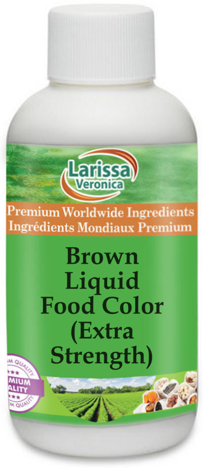 Brown Liquid Food Color (Extra Strength)