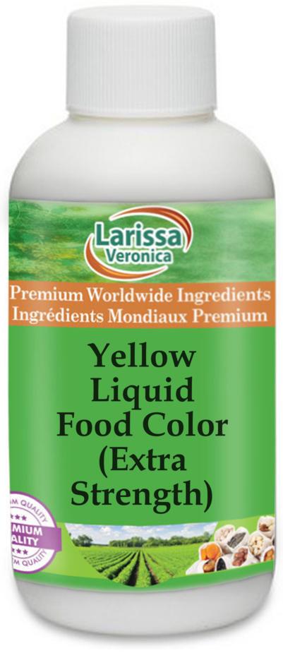 Yellow Liquid Food Color (Extra Strength)