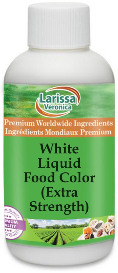 White Liquid Food Color (Extra Strength)