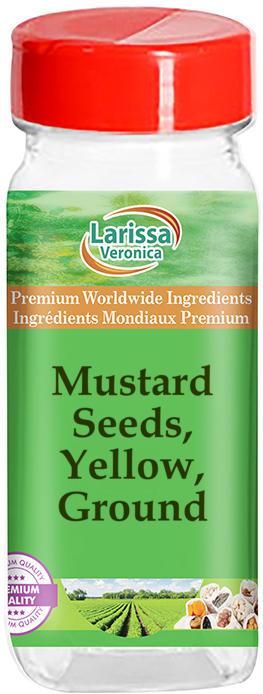 Mustard Seeds, Yellow, Ground