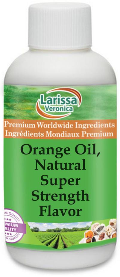 Orange Oil, Natural Super Strength Flavor