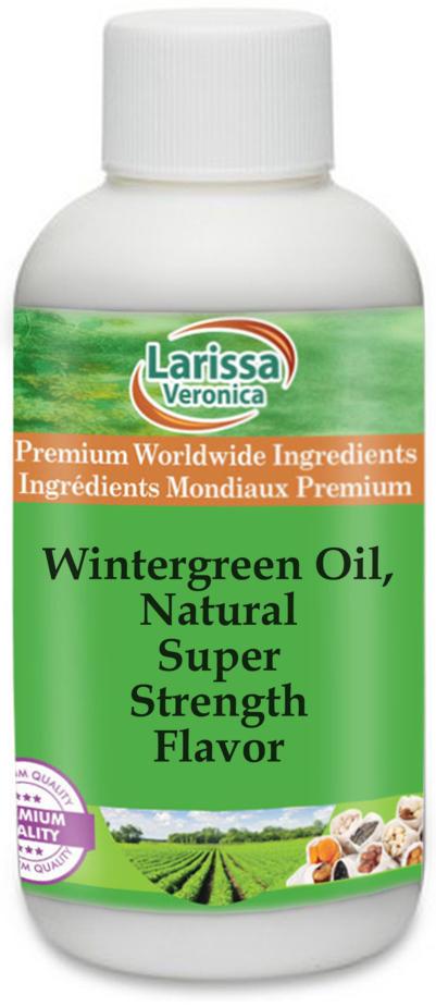 Wintergreen Oil, Natural Super Strength Flavor