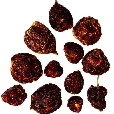 Habanero Chile Peppers (Whole and Dried)